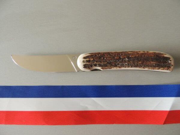 Liner Lock bois de cerf par Robert duxin